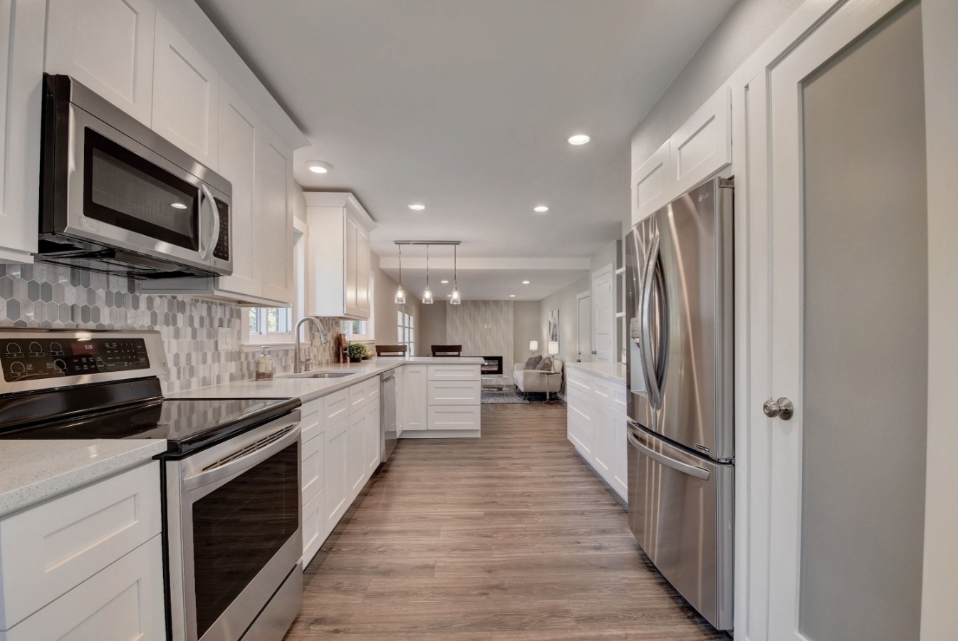 Remodeled Kitchen with Pantry