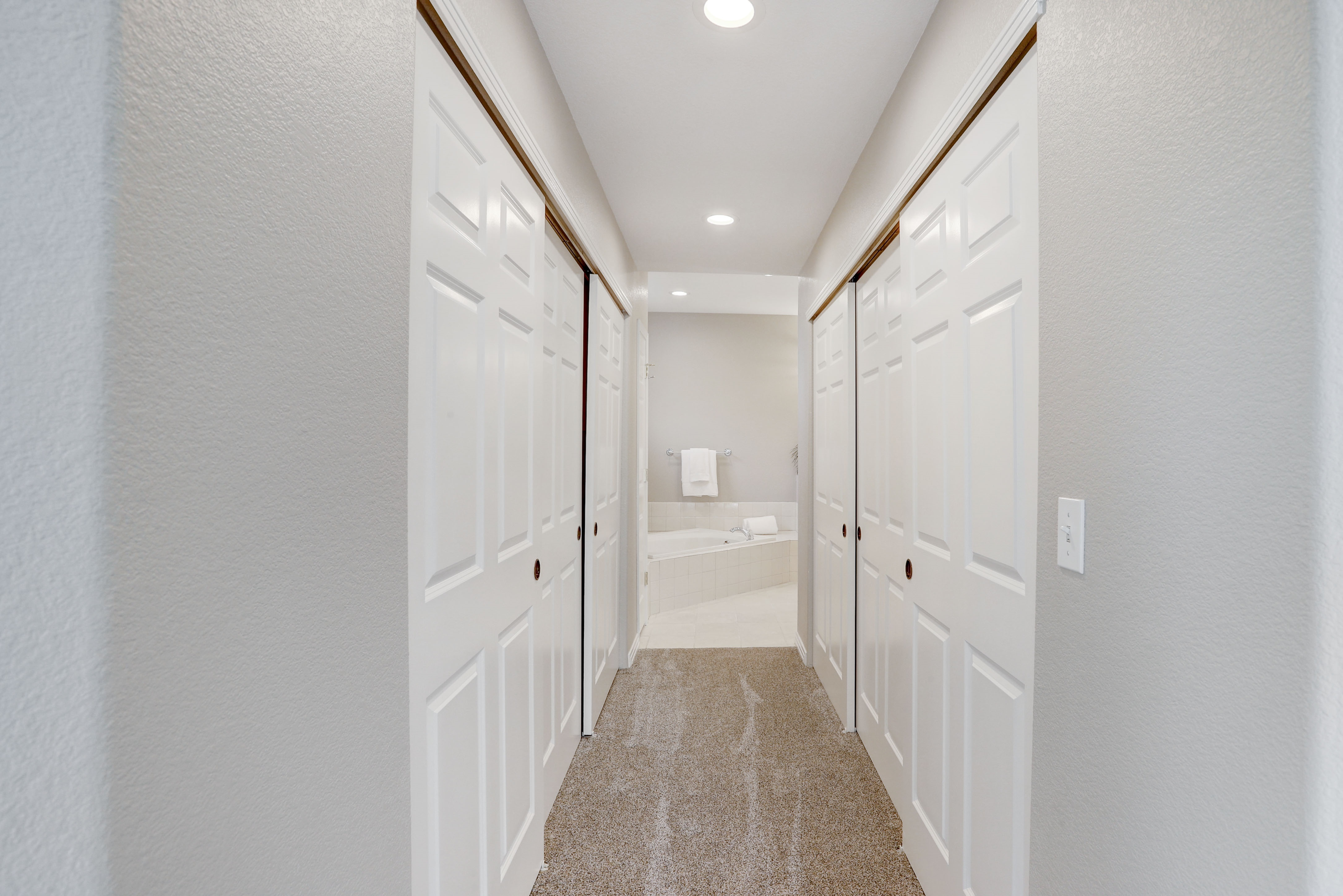 Double Sided Closet