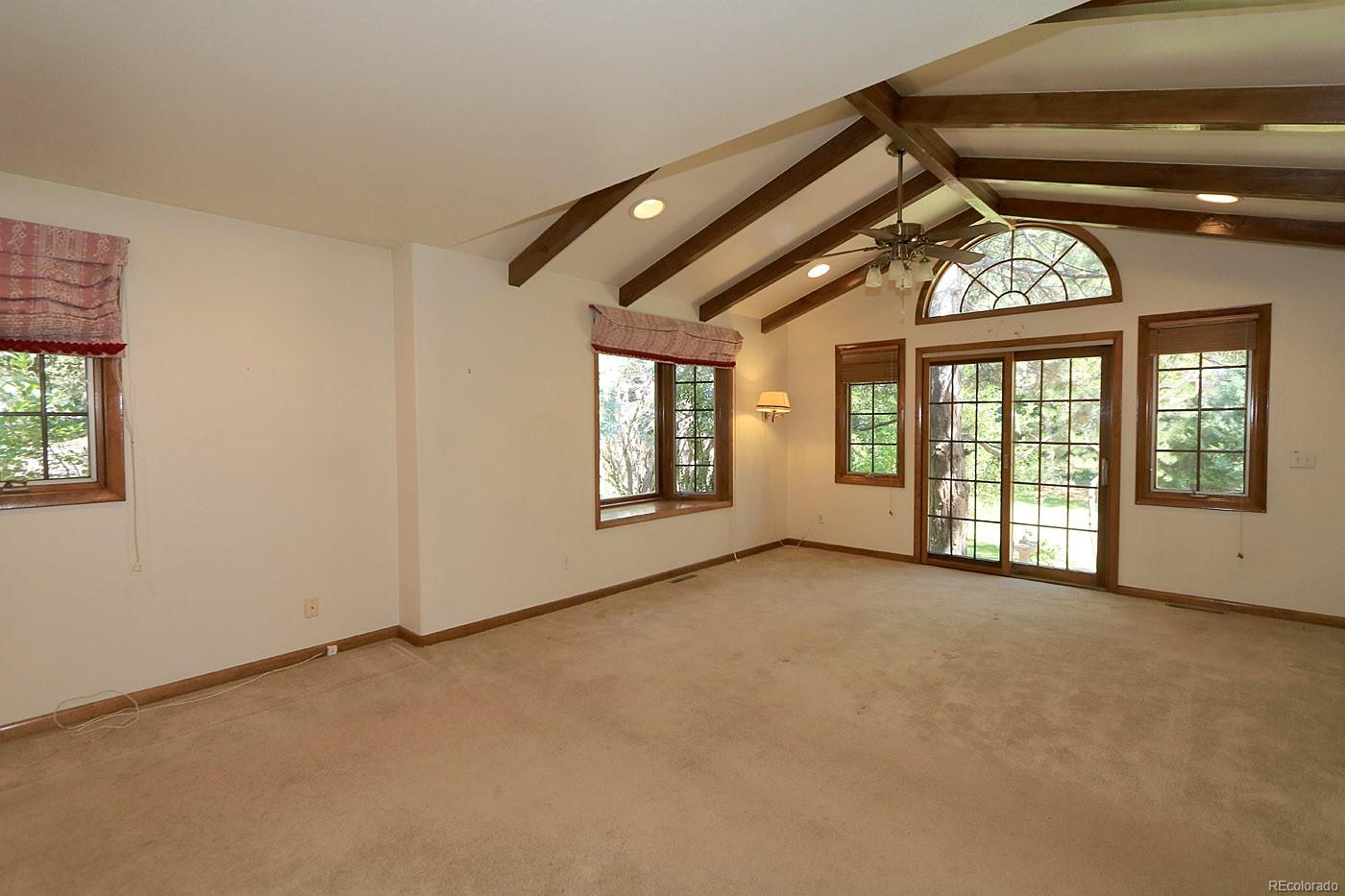 One of a Kind Master Suite Opens to Brick Patio