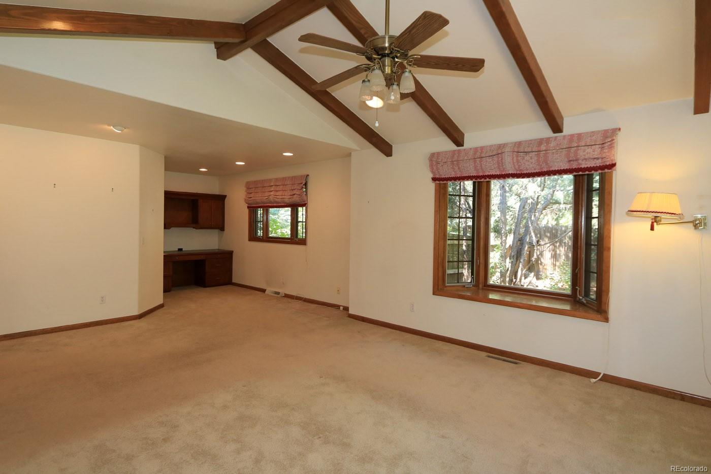 Charming master Features Vaulted Ceiling,and more