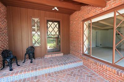 Lovely Brick Patio Entrance