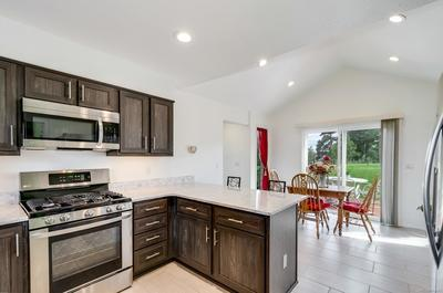 Breakfast Bar and eating space offer great space and great natural light