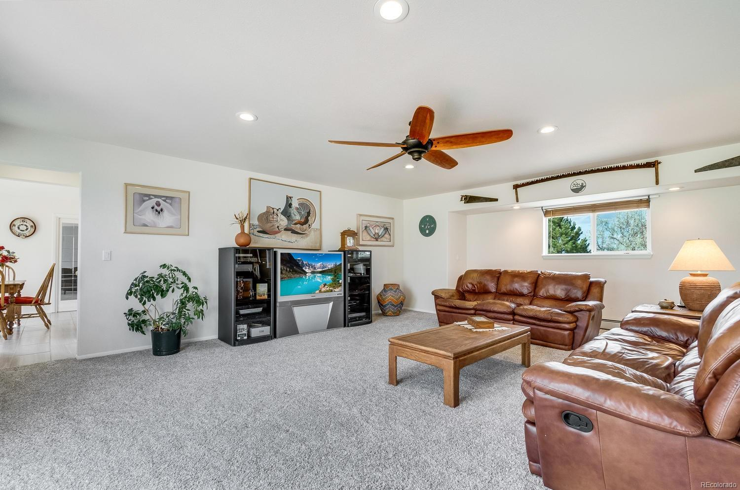 Family Room with access to Study or can be used as Mother-in-law bedroom on the opposite side of the home from the other 3 bedrooms.