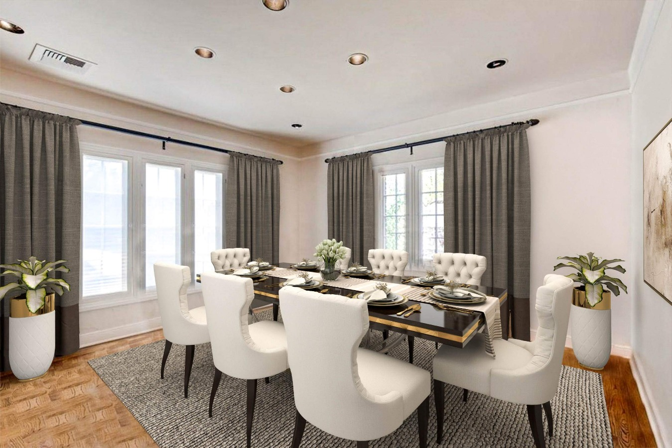 Virtually Staged - Dining Room