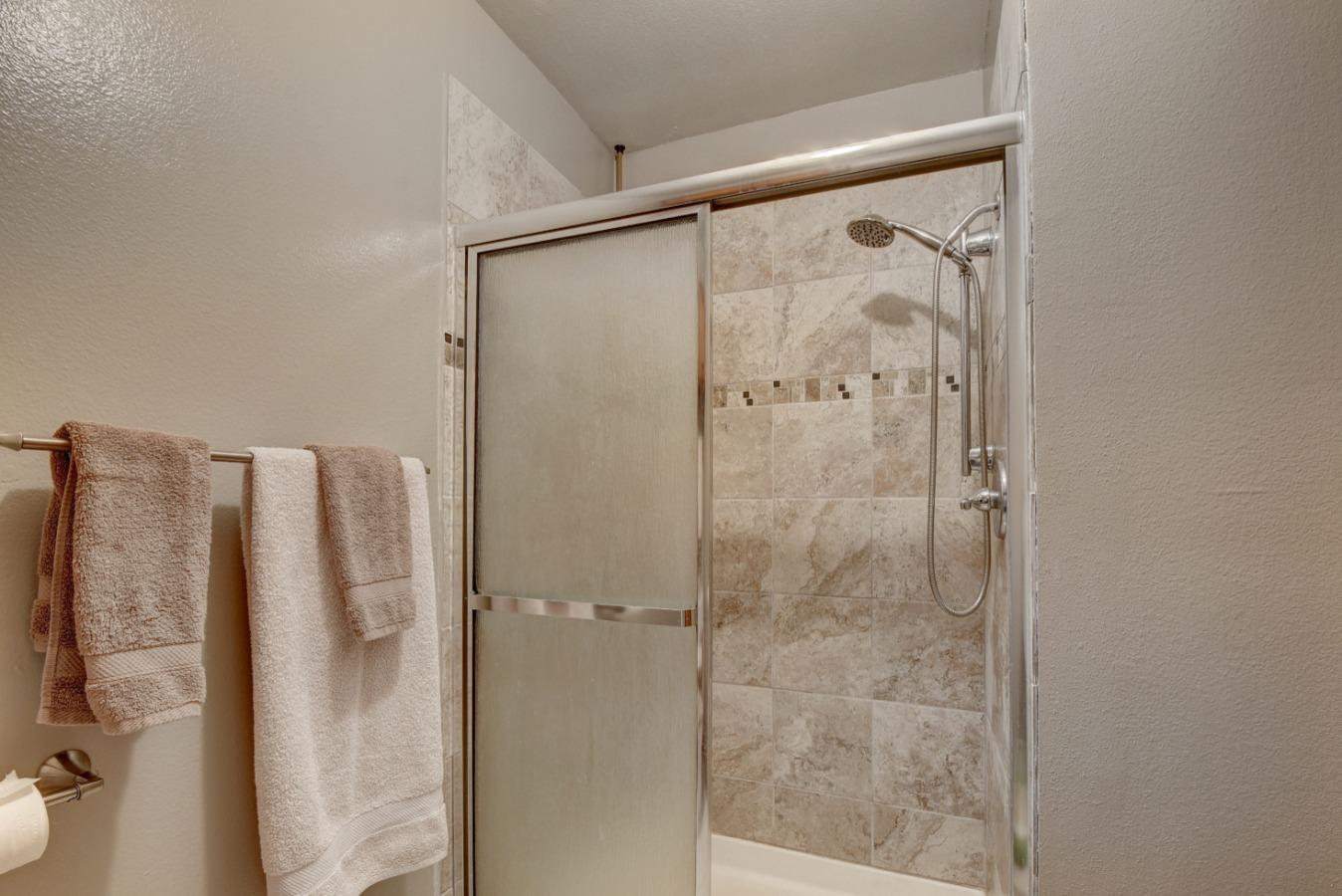 Updated Walk-in Shower