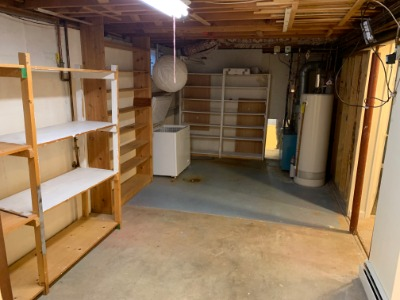 Lot of Storage, Included Chest Freezer