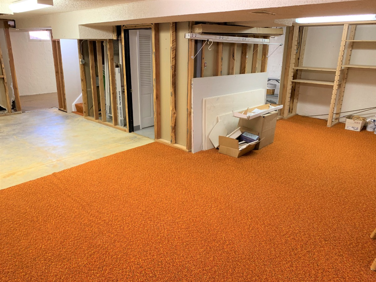 Unfinished Spacious Basement