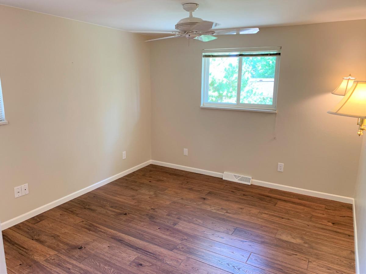 Master Bedroom, Ceiling Fan, Natural Light
