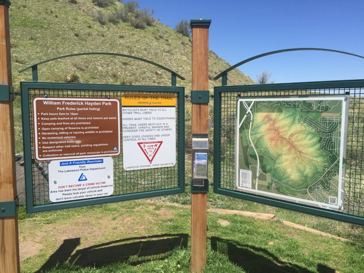 Green Mountain Trailhead