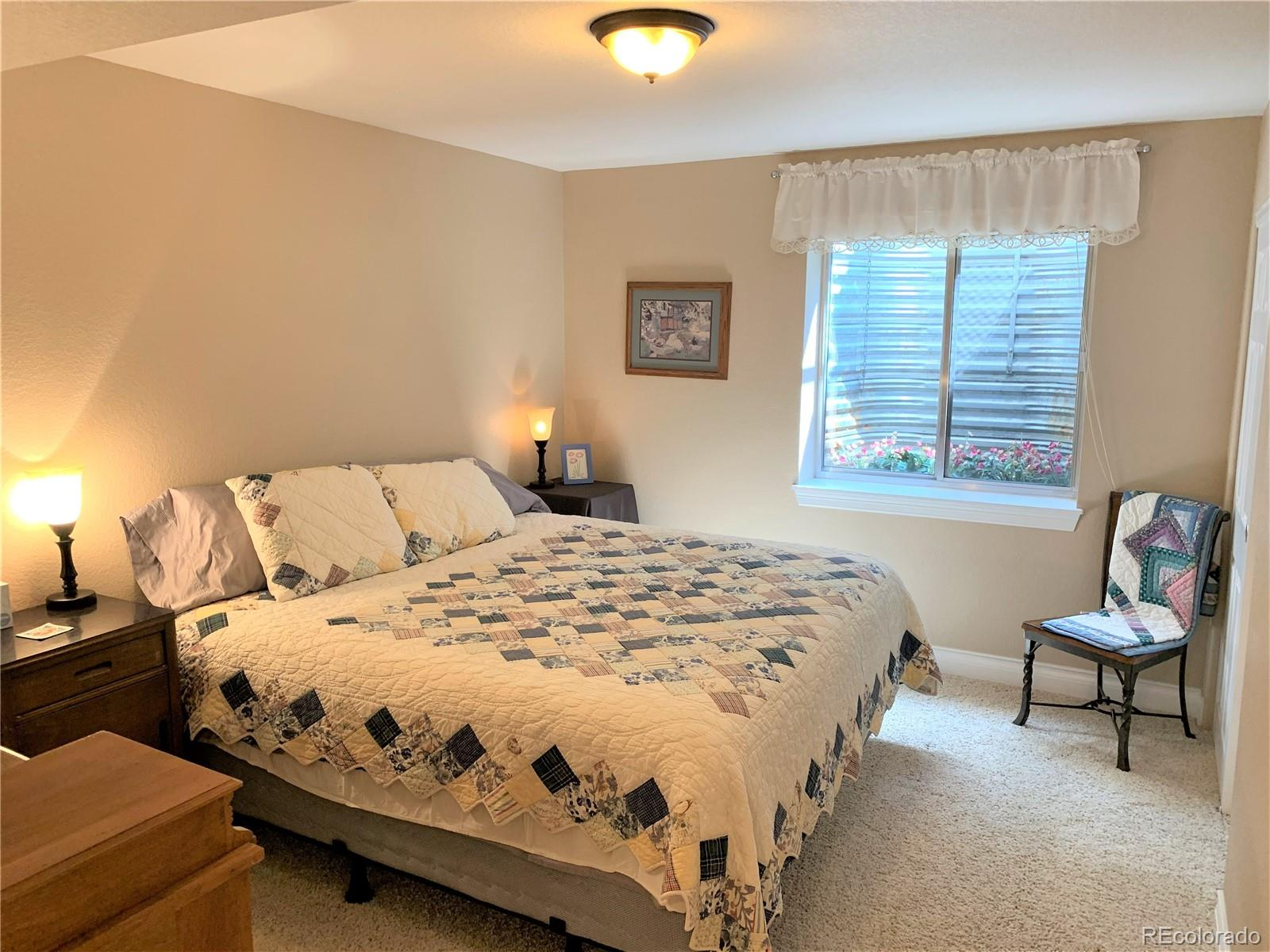 One of Two Conforming Basement Bedrooms