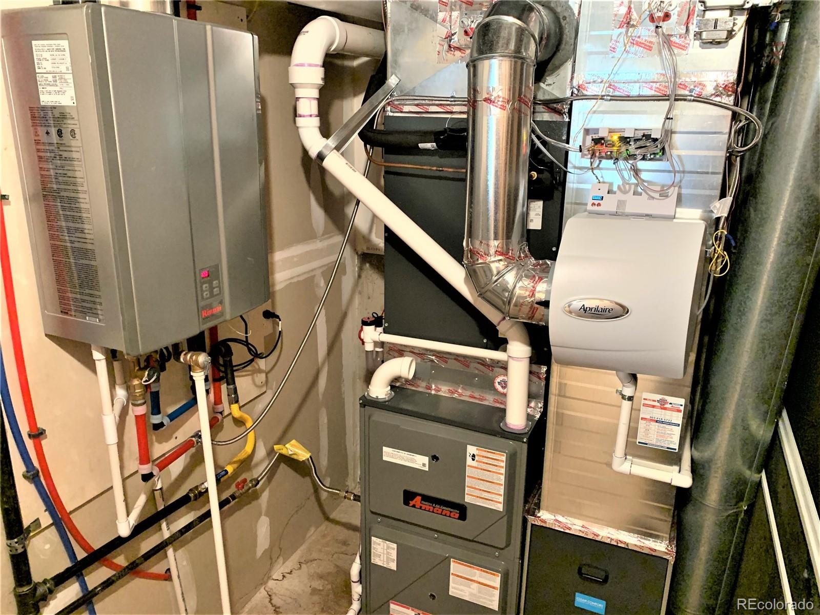 Near New HVAC and Tankless Water Heater