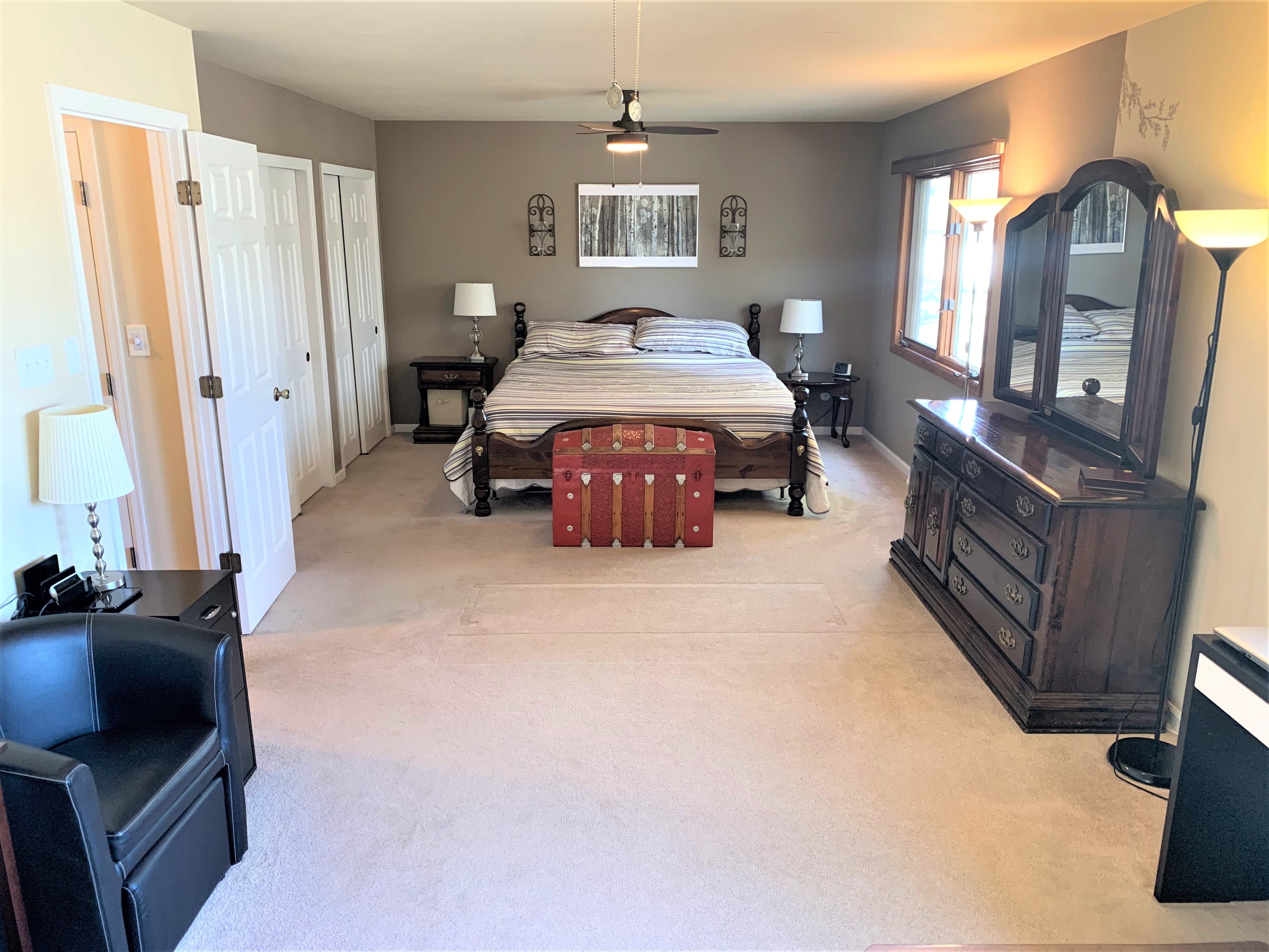 2 Bedrooms Converted to Huge Master