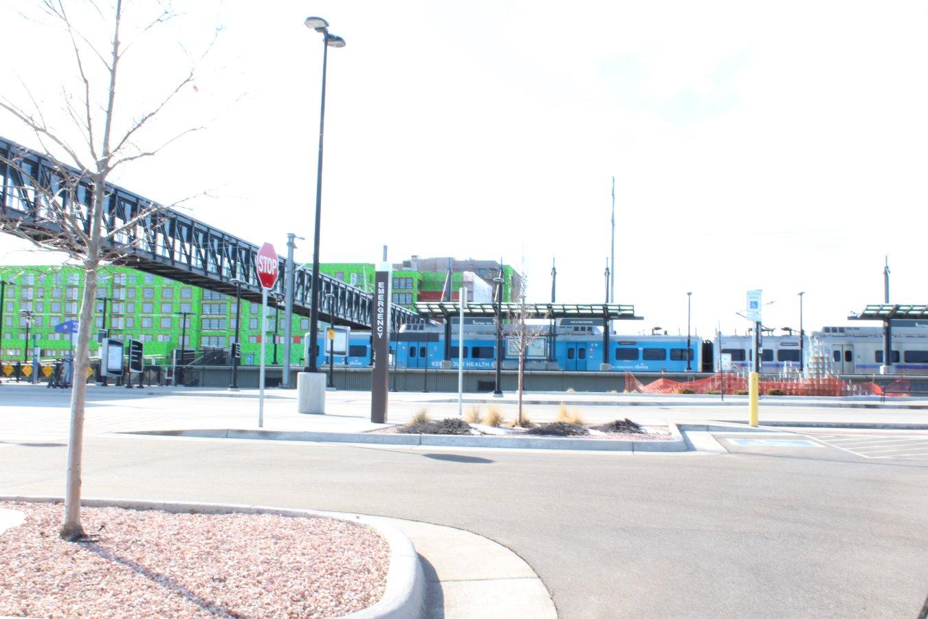 Light Rail Fox Street Station