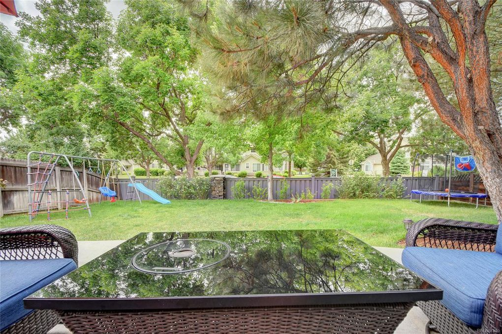 Nice flat backyard