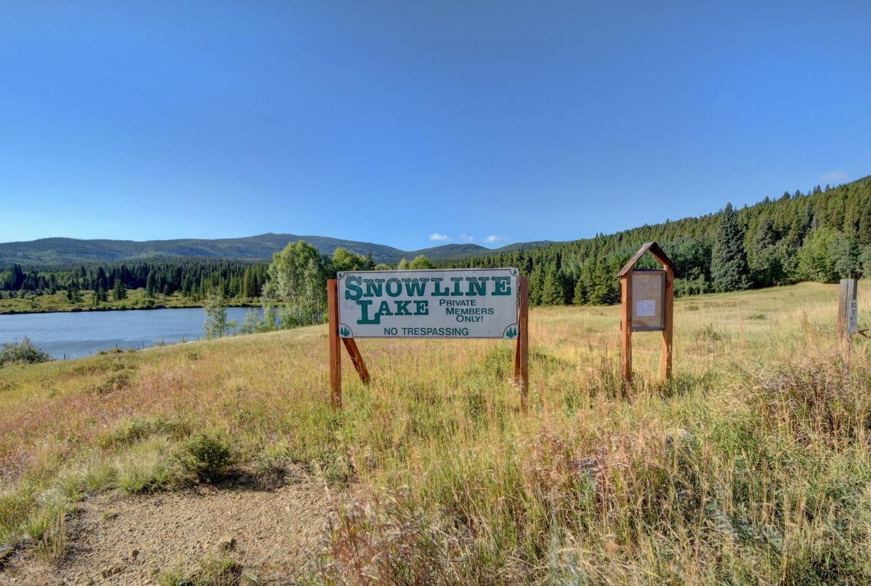 Snowline Lake - Private access