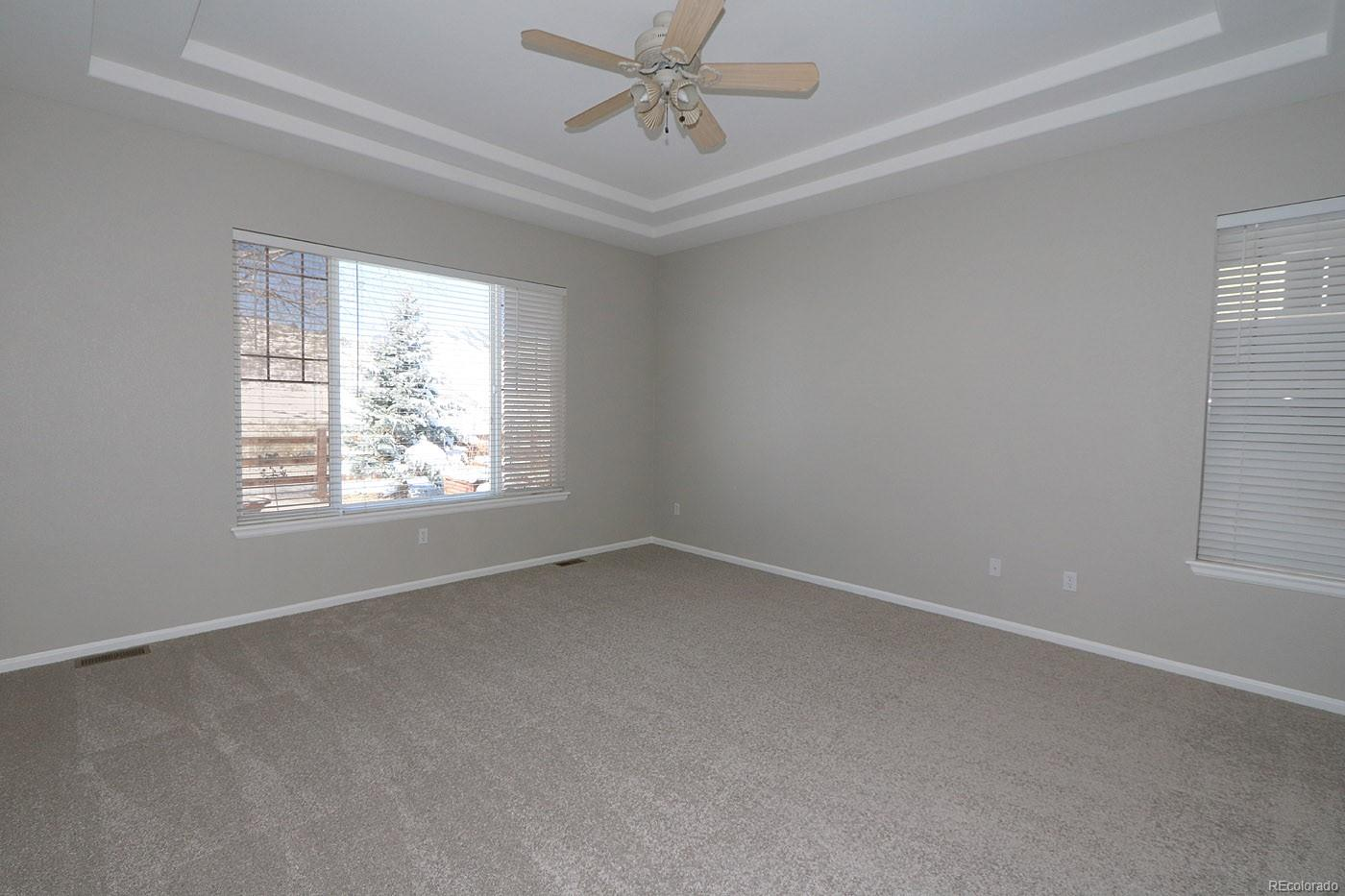 Master With New Carpet Views of Open Space