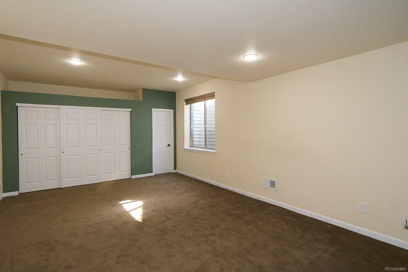 Huge Basement Bedroom