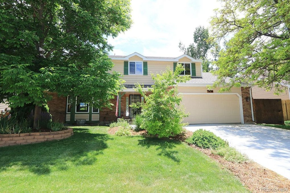 Four bedroom home with nice curb appeal.