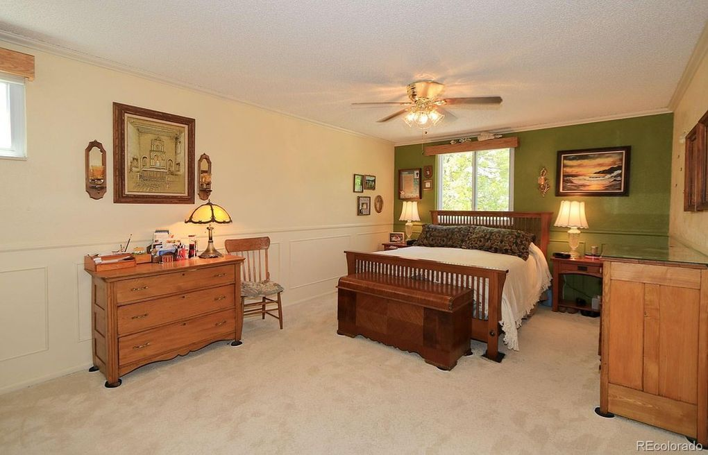 Large Master Upstairs Including 3/4 bath