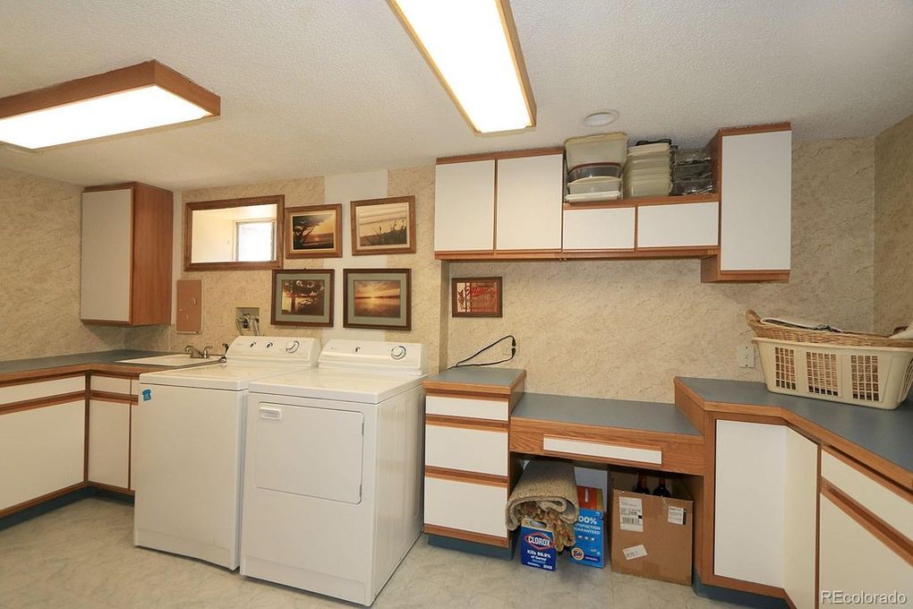 Laundry Room, lots of cabinets.