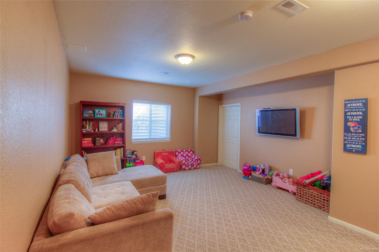 Finish Family Room in Basement