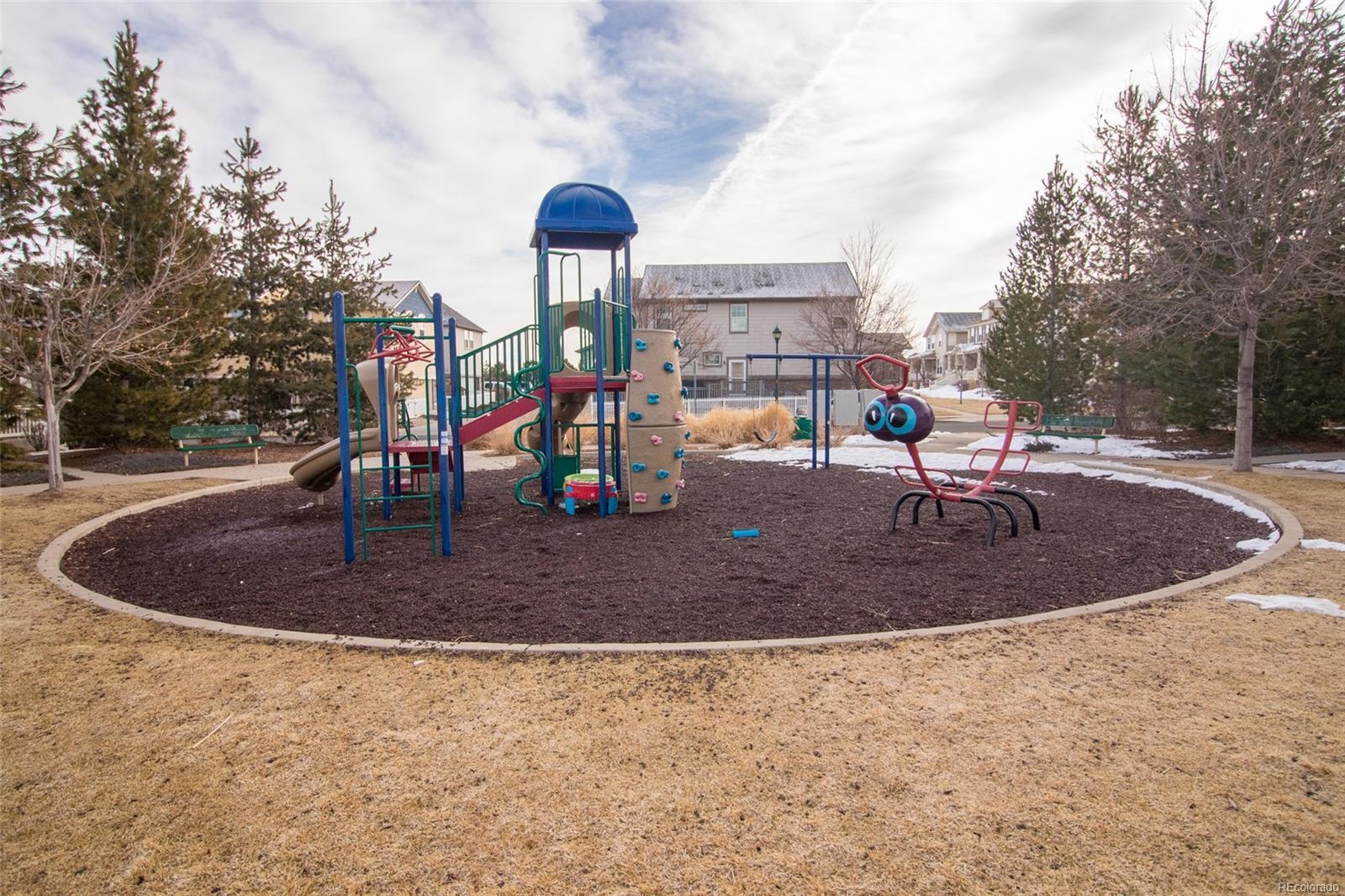 Tuscany Trail's community playground just steps away