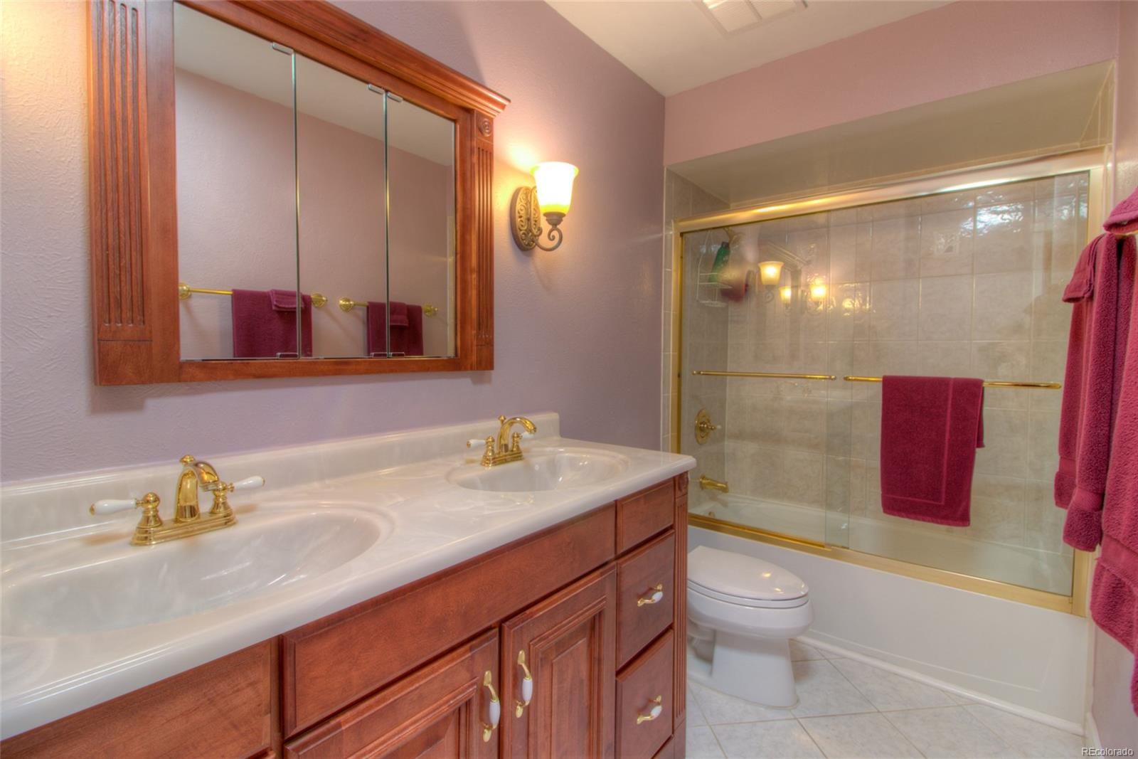 Upstairs Full Bath has been remodeled too!