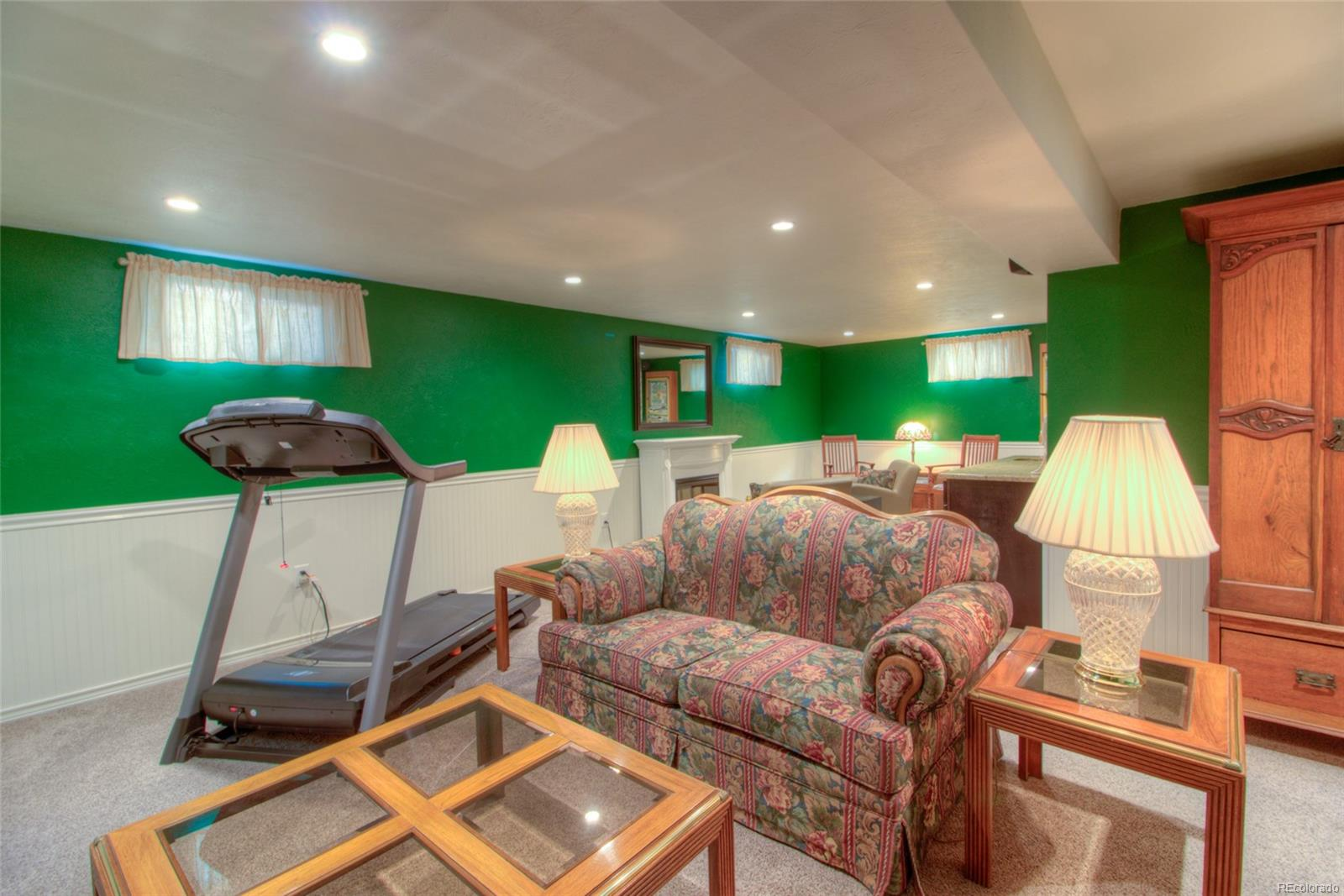 Basement was remodeled in 2014