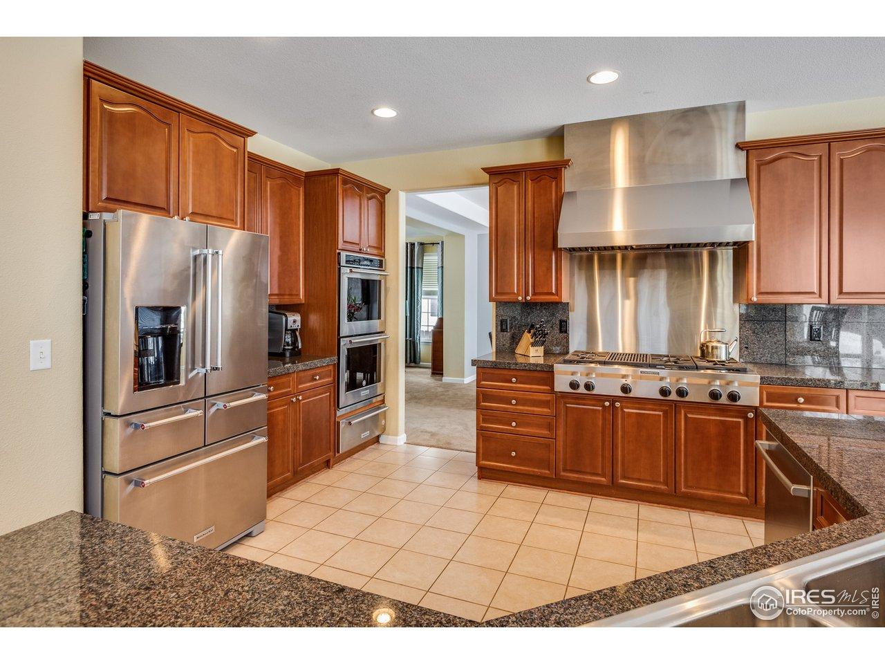 Kitchen Aid commercial grade appliances