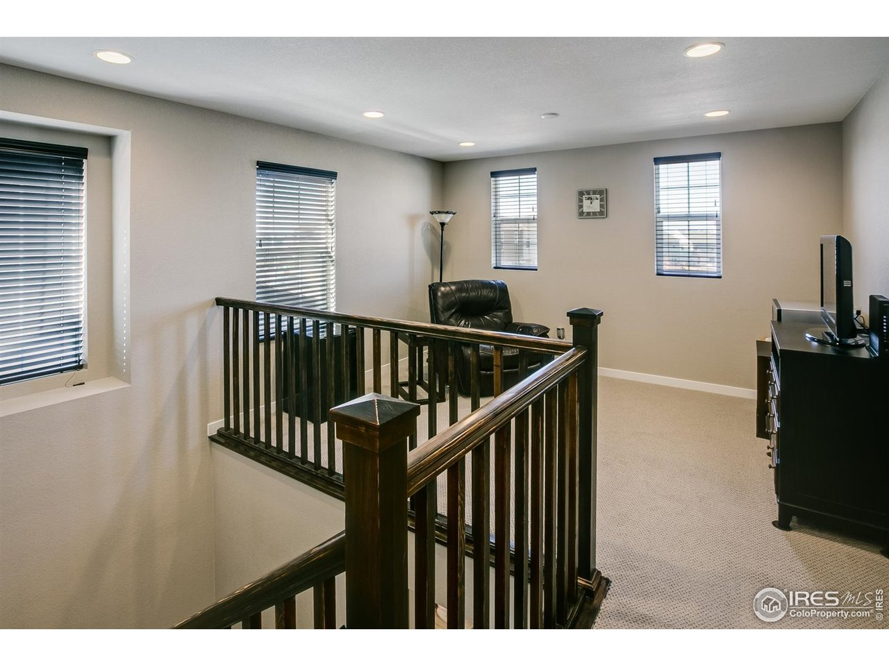 Upper Level Loft - for home office or additional family room