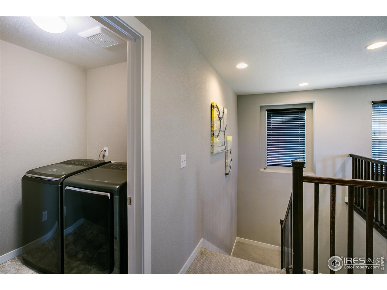 Convenient Upper Level Laundry Room - Washer & Dryer Included