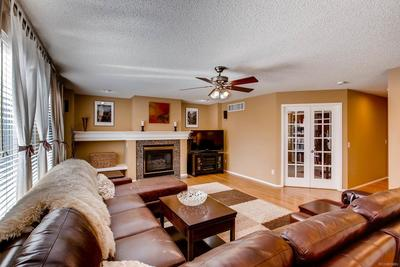 Family room right off of the kitchen
