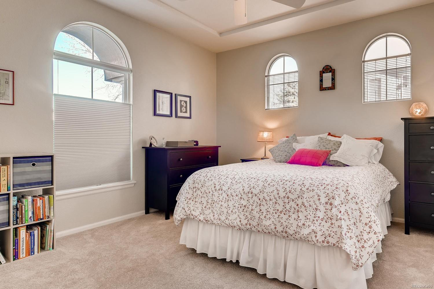 Master bedroom with private bathroom