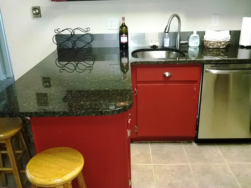 Slab Granite Counters!