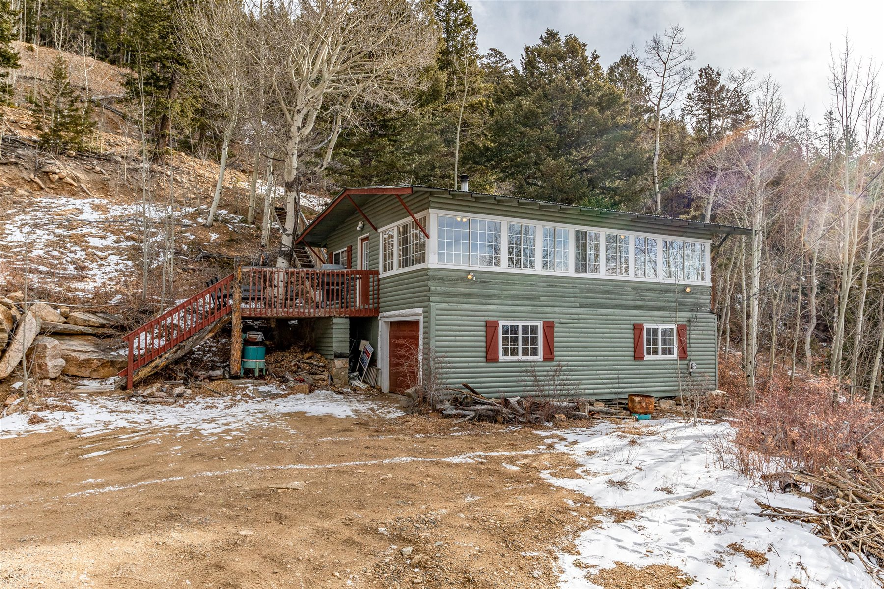 cabin at 1799 Robinson Hill Road