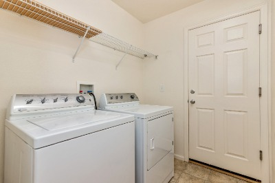 Laundry Room to Garage