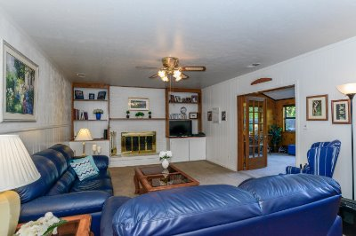 Large Lower Level Family Room