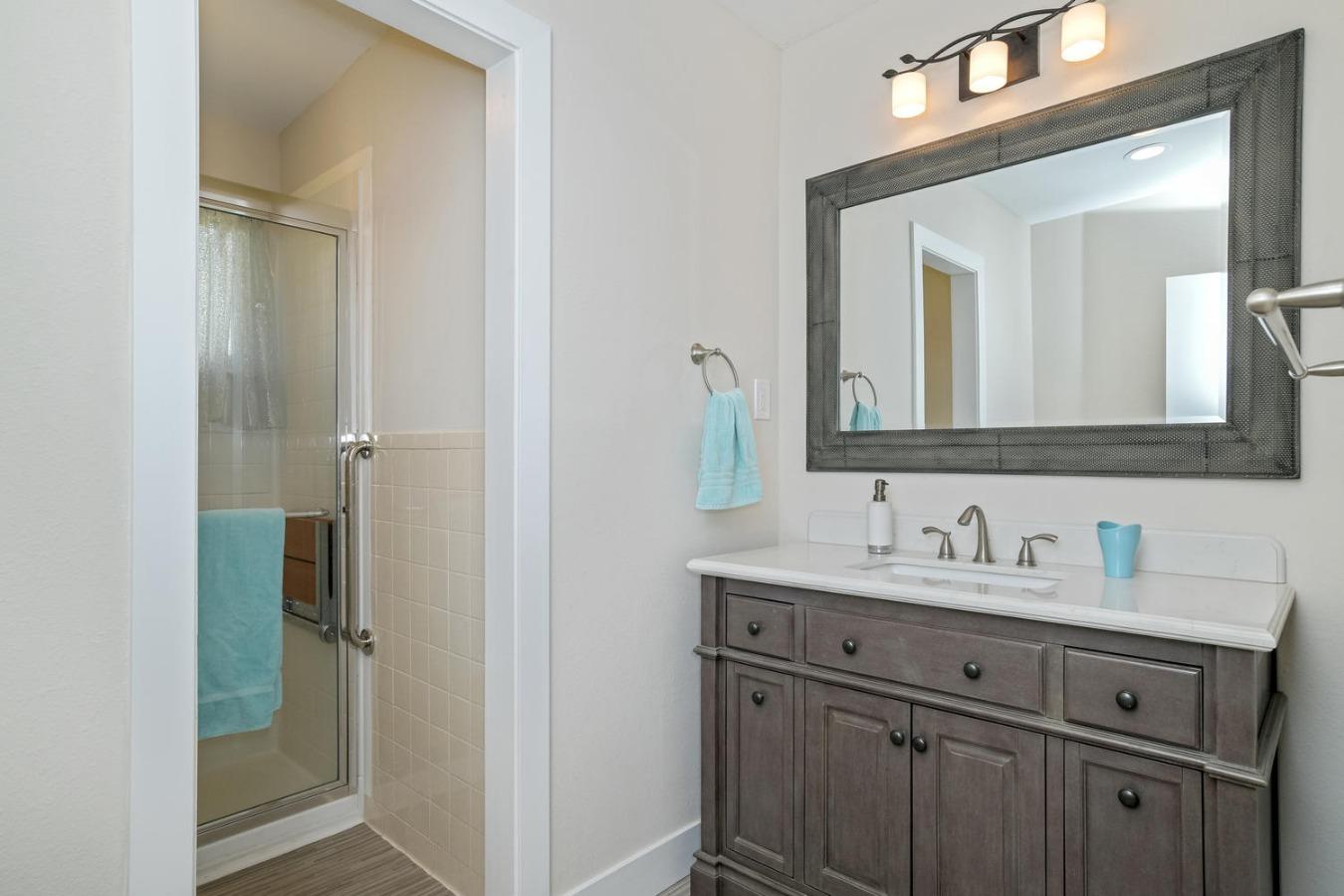 Spacious Remodeled Main Bath