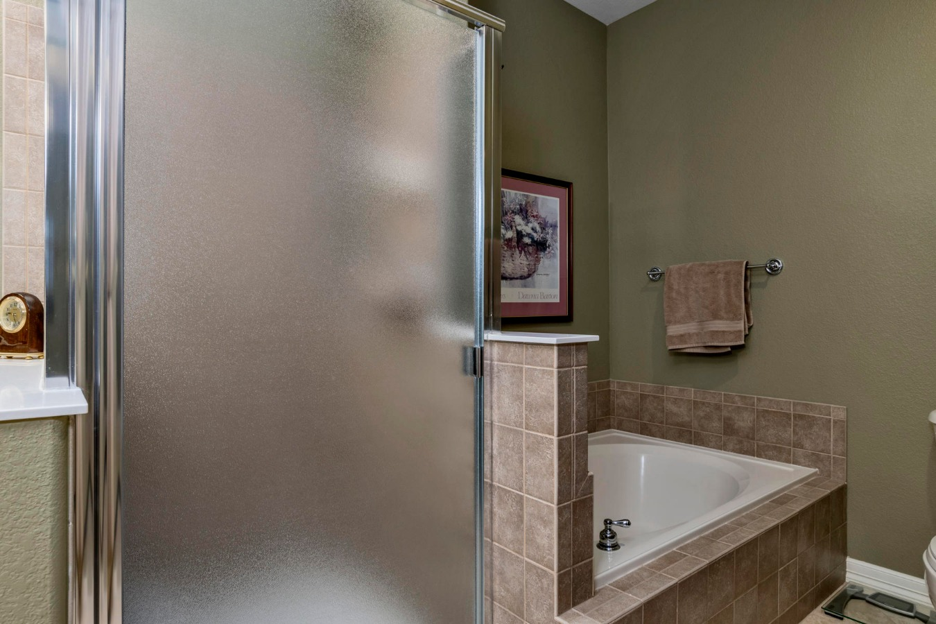 Heated Tile Floor in Master Bath