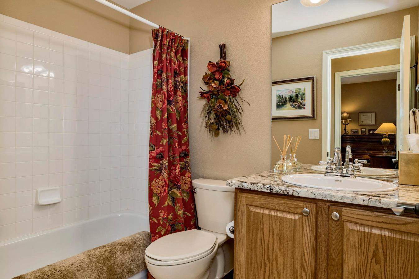 2nd Full Bath on Main Floor
