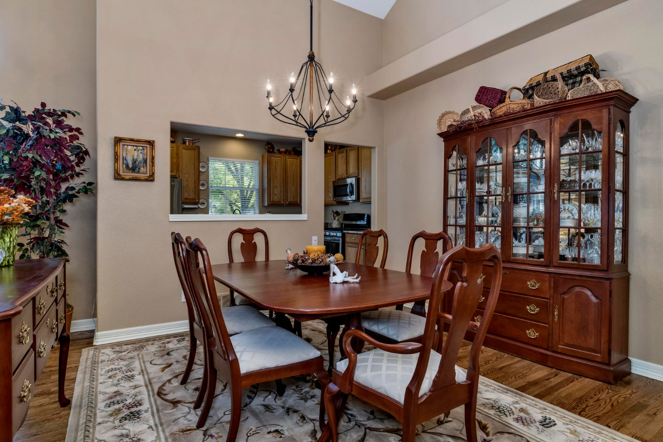 Expansive Formal Dining Area