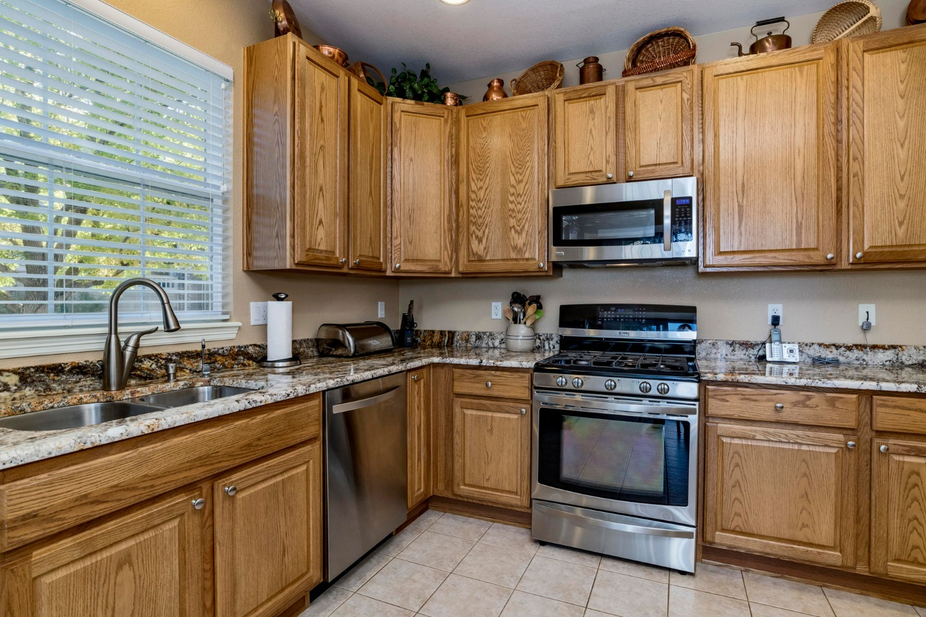 Abundant Cabinet Storage in Kitchen