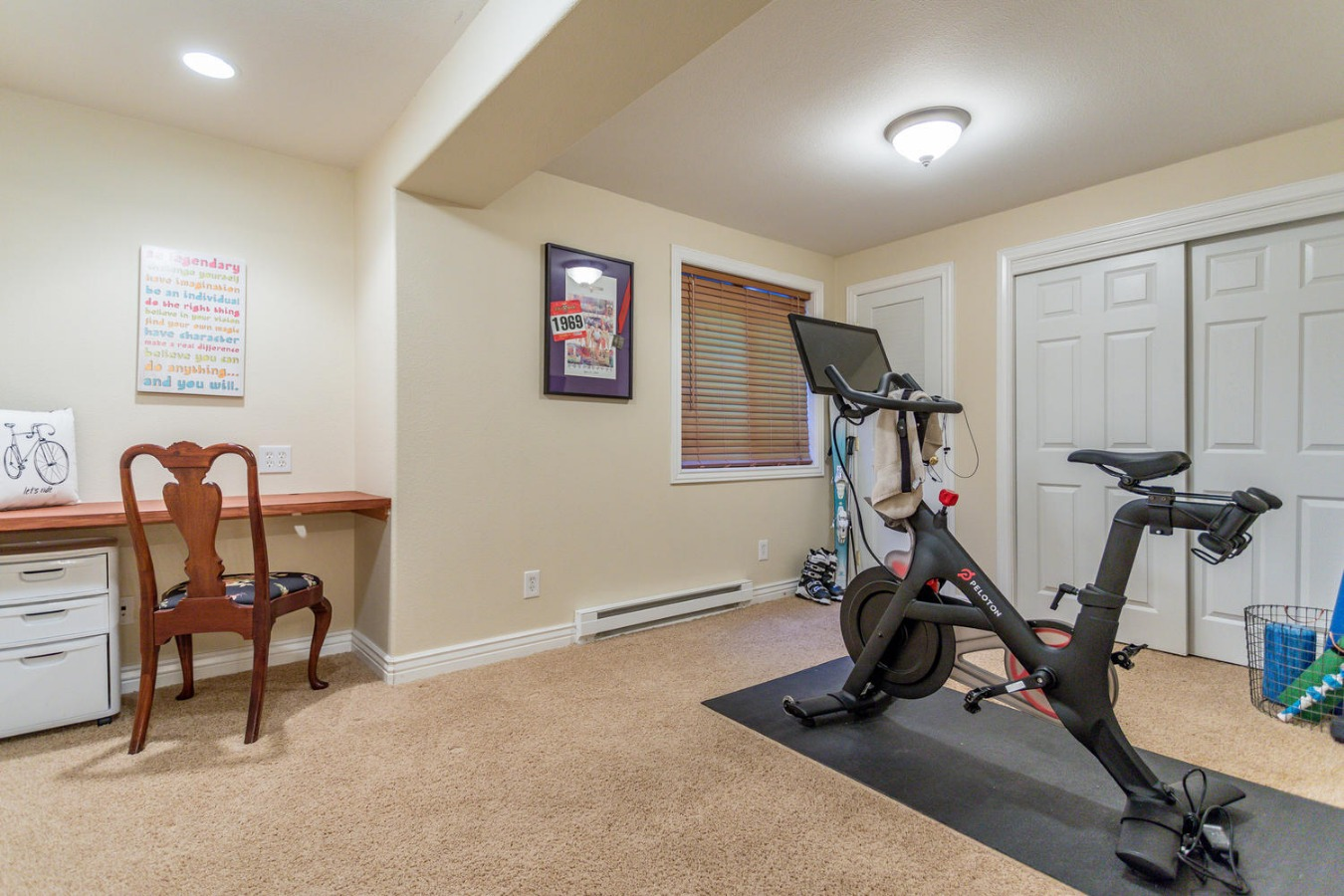 Spacious BR #5 is Currently An Exercise Studio