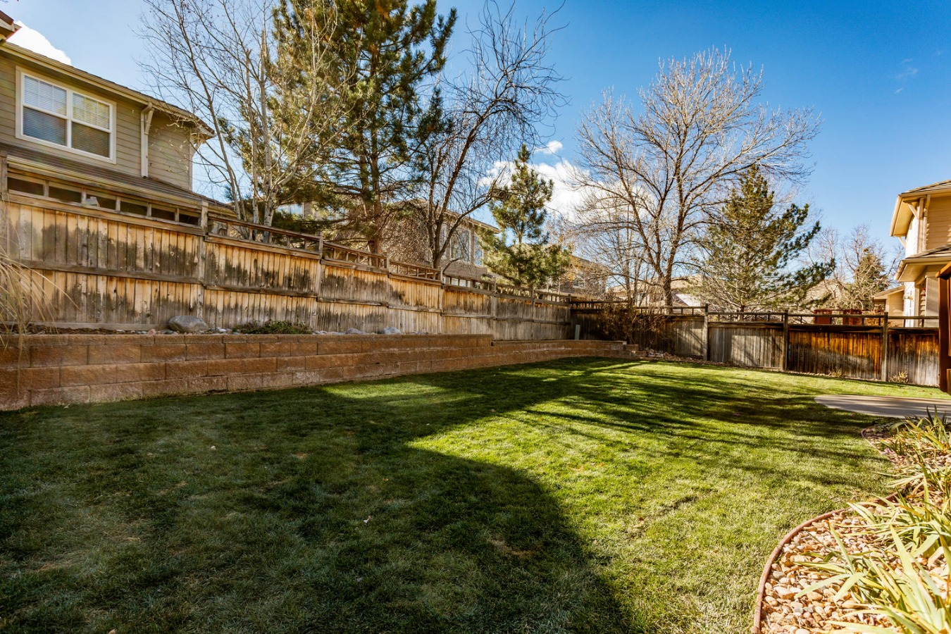 Fenced Backyard is Great for Pets or Play!