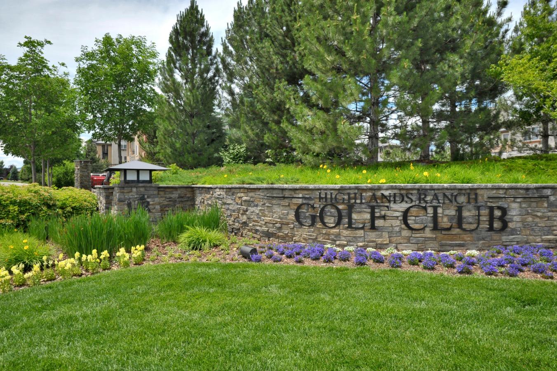 Highlands Ranch Golf Club Entrance Signage