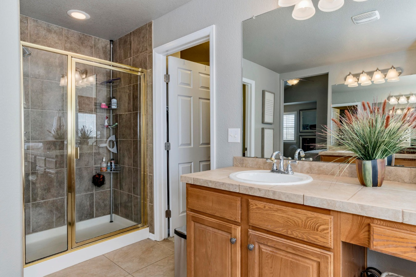 5-pc Master Bath with Large Shower