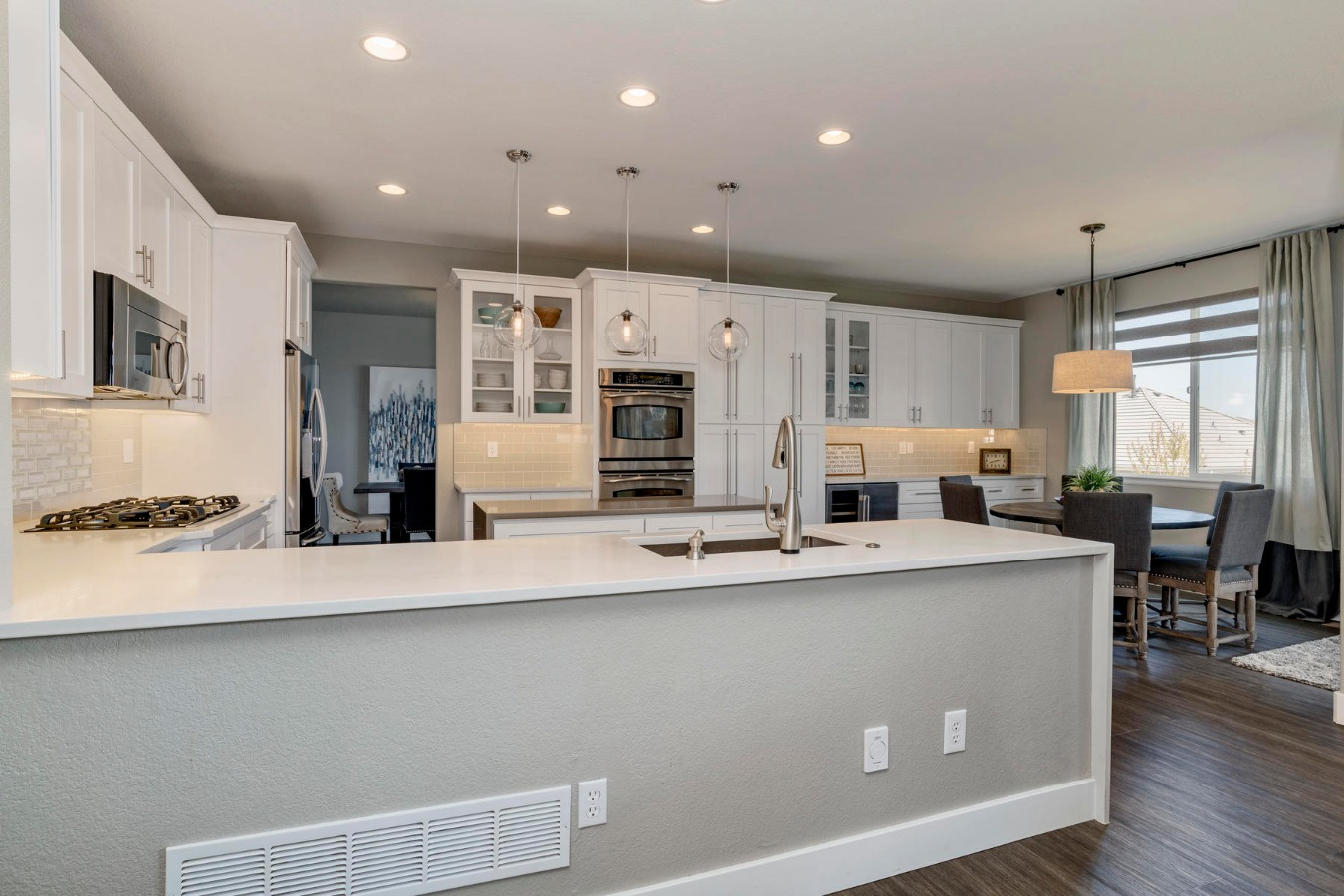 Spacious Kitchen with Brand New Cabinetry