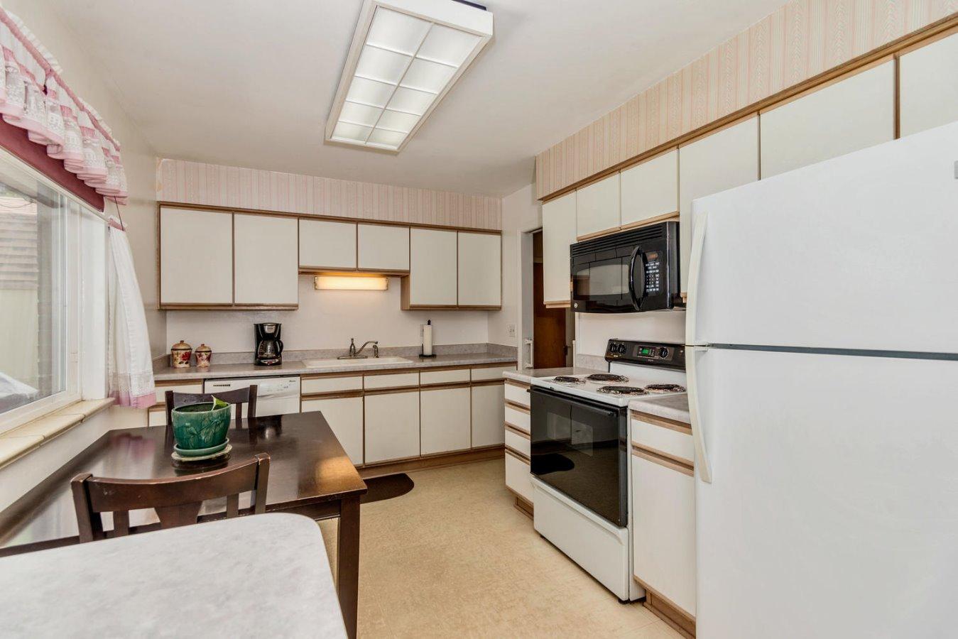 Abundant Storage Cabinetry in Kitchen