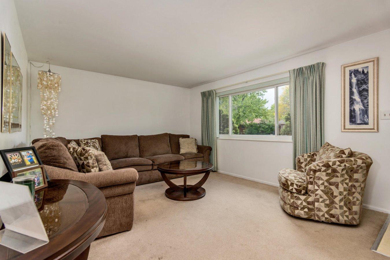 Nice Sized Living Room w/ Newer Vinyl Windows