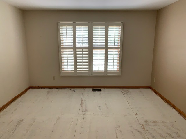 Plantation Shutters in Both Bedrooms